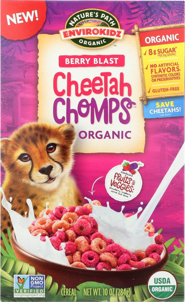 ENVIROKIDZ ORGANIC: Cereals Kids Cheetah Organic, 10 oz