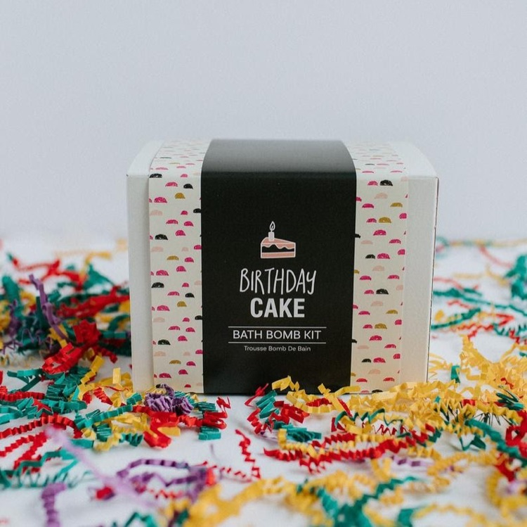 Bath Bomb Kit - Birthday Cake Scent